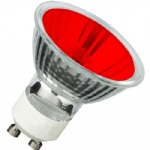 Single 35w GU10 Coloured Halogen Bulb