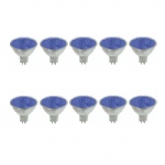 Blue 50W 38° 12v GU5.3 10 Pack EXN-P-Blue