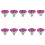Pack Of 10 20W 12 Degree 12v MR16 Coloured Halogen Lamps
