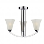 Arlington Semi-Flush Polished Chrome ARL0350