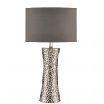 Bokara Table Lamp Silver BOK4232/X