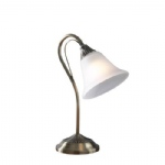 Boston Table Lamp Antique Brass BOS40