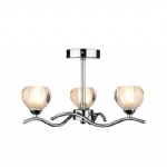 Cynthia 3 Light Semi Flush CYN0350