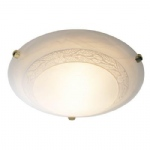 Damask Flush Brass Ceiling Light DAM502