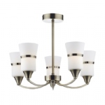 Dublin Multi Arm 5 Light Fitting DUB0575