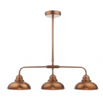 Dynamo Antique Copper Triple Pendant DYN0364