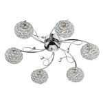Eden 6 Light Semi Flush EDE6450