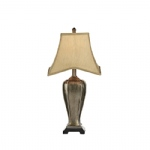 Emlyn Silver and Gold Table Lamp EML4235/X