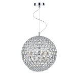 Fiesta Crystal Chrome Pendant FIE1250