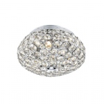 FRO5350 Frost Crystal Flush Ceiling Light