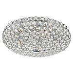 Frost 5 Light Chrome and Crystal Ceiling Fitting FRO5450