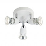 GEM762 Gemini White Round Spotlight