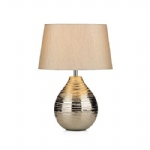 GUS4032 Gustav Table Lamp Silver