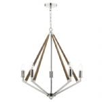 HOT0538 Hotel 5 Light Multi-Arm