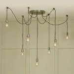 HUC3439 Huckelberry 7 Light Pendant