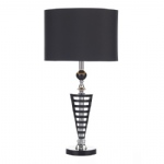 Black and Glass Table Lamp HUD4222