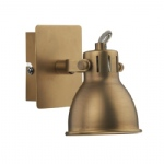 IDA0775 Idaho Natural Brass Wall Light