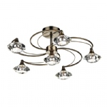 Luther Ceiling Light Antique Brass LUT0675