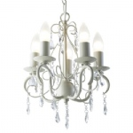 LYD0533 Lydia 5 Light Cream Chandelier