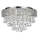 Crystal Flush and Semi-Flush Ceiling Lights