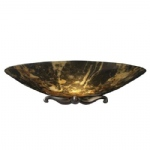 Savoy Single Dark Marble Wall Light MG28