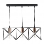 Midi Three Light Bar Pendant MID0322