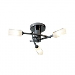 Morgan Black Chrome 3 Arm Ceiling light MOR0367