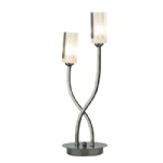 Morgan Black Chrome Table Lamp MOR4067