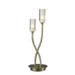 Morgan Antique Brass Table Lamp MOR4075