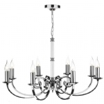 Murray Polished Chrome 8 Light Multi Arm Ceiling Fitting MUR0850
