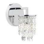 Niagra Single Chrome Wall Light NIA0750