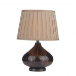 Nicole Black Gold Table Lamp NIC4254