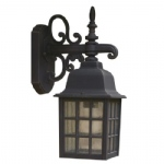 Norfolk Black Outdoor Light NOR1522