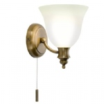 Oboe Antique brass Bathroom Wall Light OBO0775
