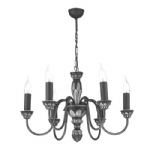 Pewter Oxford 6 Ceiling Light OX6