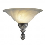 OXW1 Oxford Pewter Single Wall Light