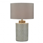 Paxton Beige Table Lamp PAX4233+S1120