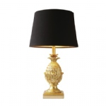 PIN4235 Pineapple Table Lamp Gold