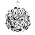 Rawley 12 Light Polished Chrome Pendant RAW1255
