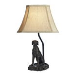 Rover Dog Sculpture Lamp ROV4263/X