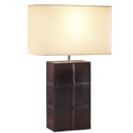 Saddler Leather Effect Table Lamp SA84C