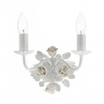 Saskia White Wall Light SAS092