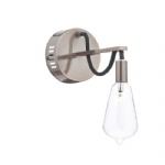 SCR0764 Scroll Industrial Styled Wall Light