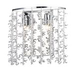 Sestina Crystal Double Wall Light SES0950