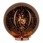 SPE4064 Speckle Copper Electro Plated Glass Lamp