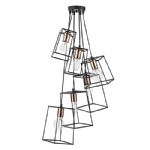 TOW0622 Tower 6 Light Cluster pendant