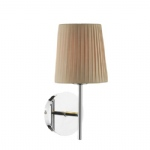 Tuscan Single Light Pleated Shade