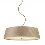 Wheel Pendant Light Taupe WHE0329