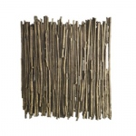 Willow Single Gold Colour Wall Light WIL0731
