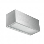 Lia Rectangular Aluminium Wall Light 05-4401-BX-B8